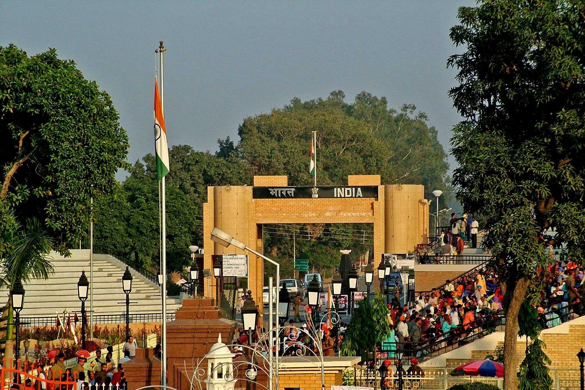 Five international borders in India
