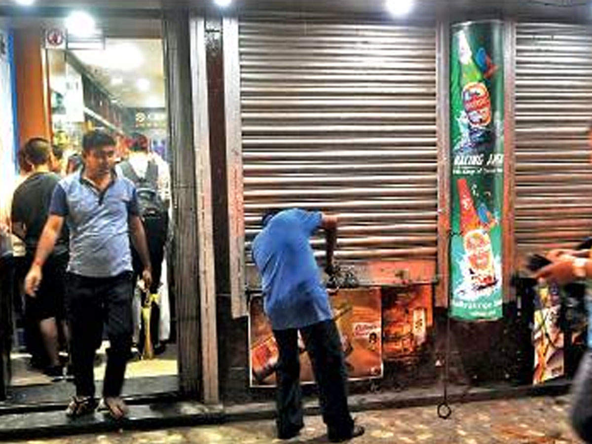 Pune: Liquor stores to shut shop at 10 30pm until May 25 | Pune News