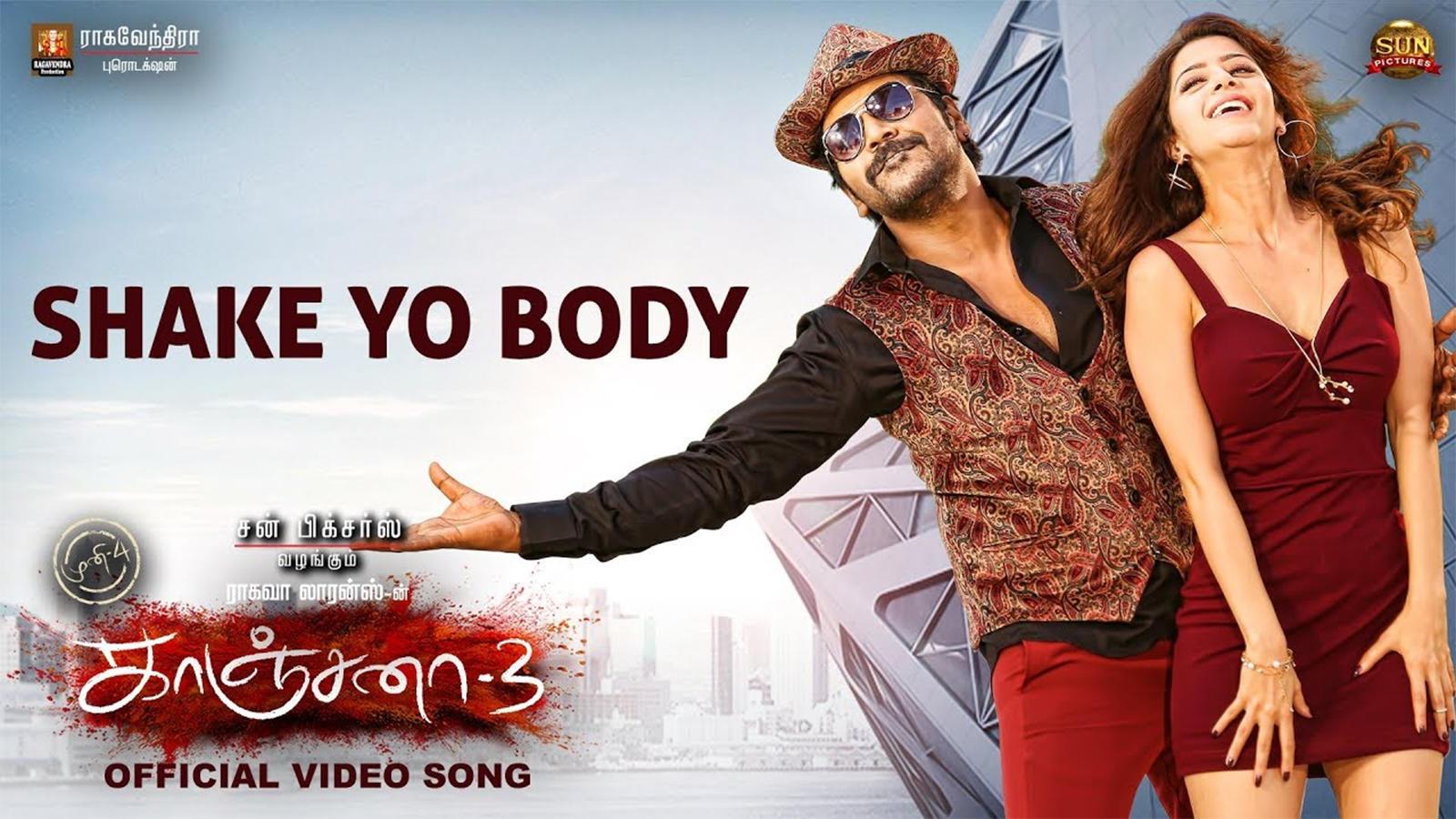 Kanchana 3   Song - Shake Yo Body
