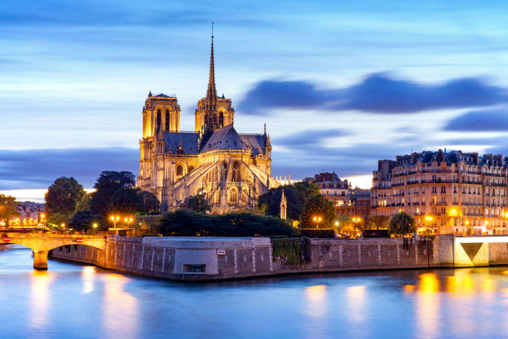 French President promises to restore Notre Dame in five years