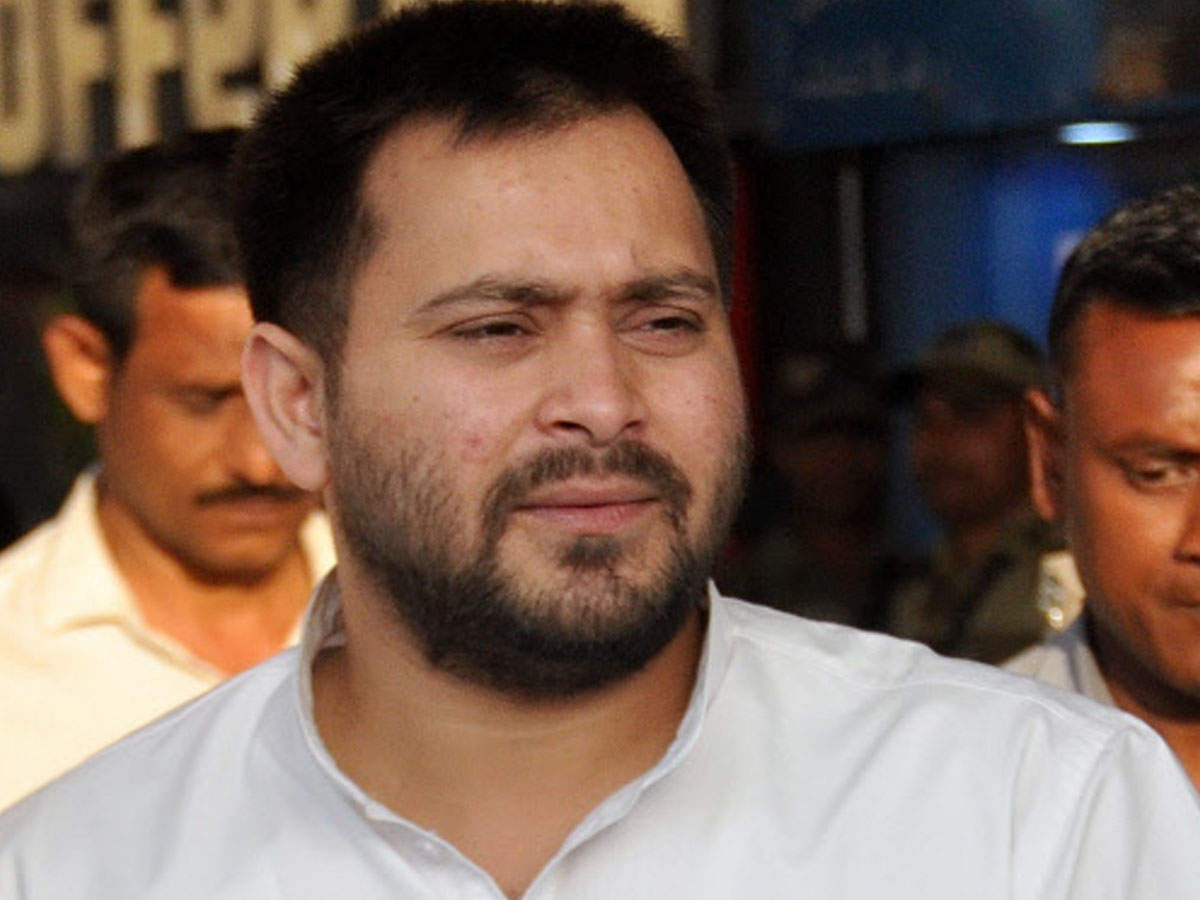 PM Modi a 'fake backward': Tejashwi Prasad Yadav - Times of India