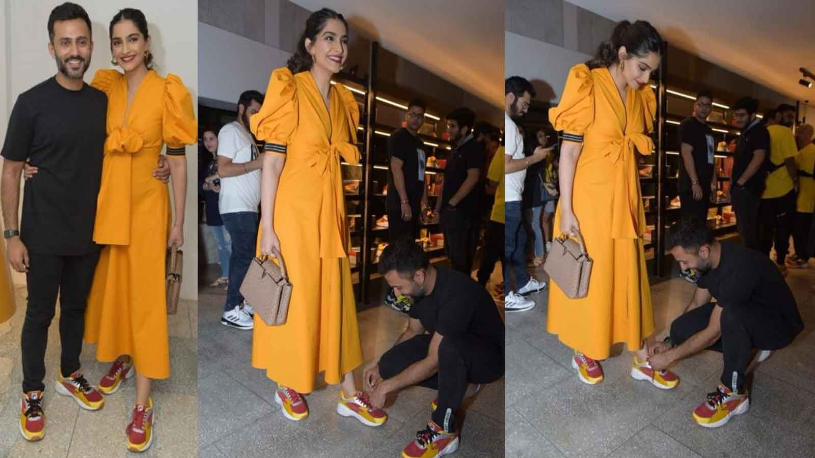 sonam-kapoors-husband-anand-ahuja-goes-down-on-knees-to-tie-her-shoelace