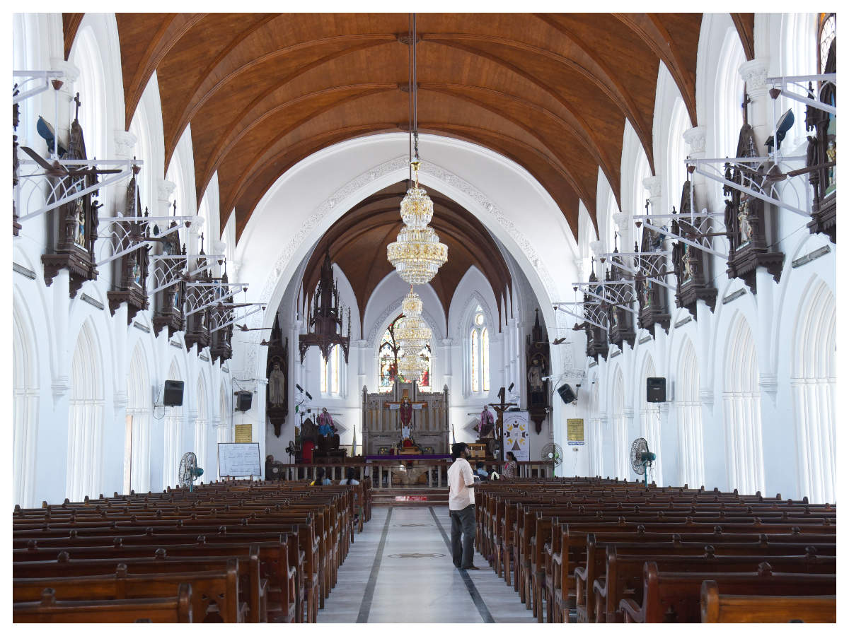 Portuguese churches take Chennai back in time | Chennai News