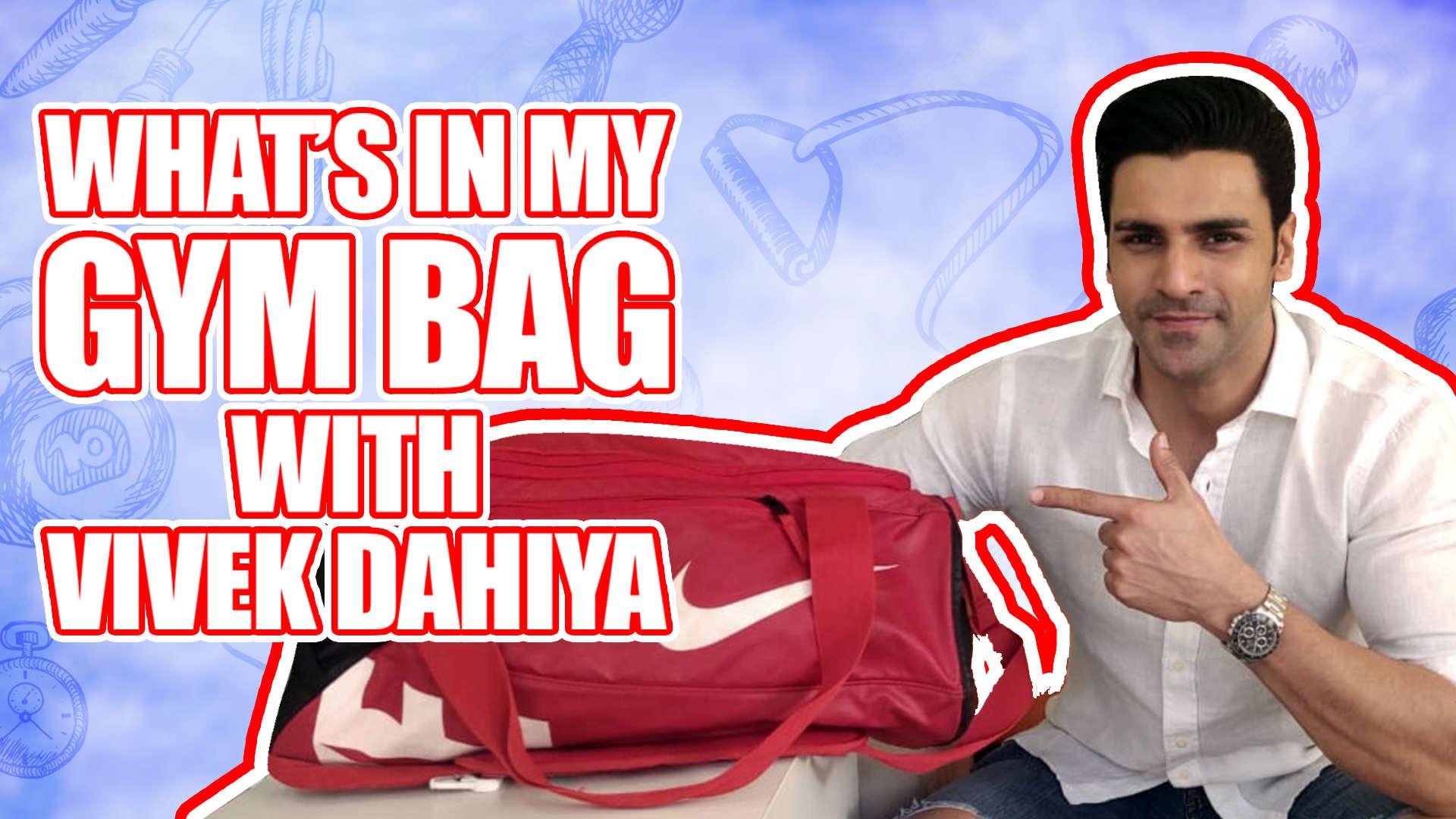 7202646521 What s In My Gym Bag Ft. Vivek Dahiya
