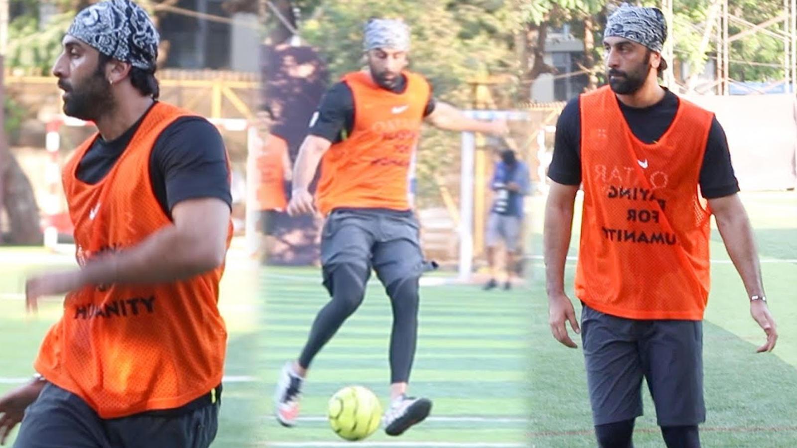 ranbir-kapoor-seen-putting-his-best-foot-forward-in-football