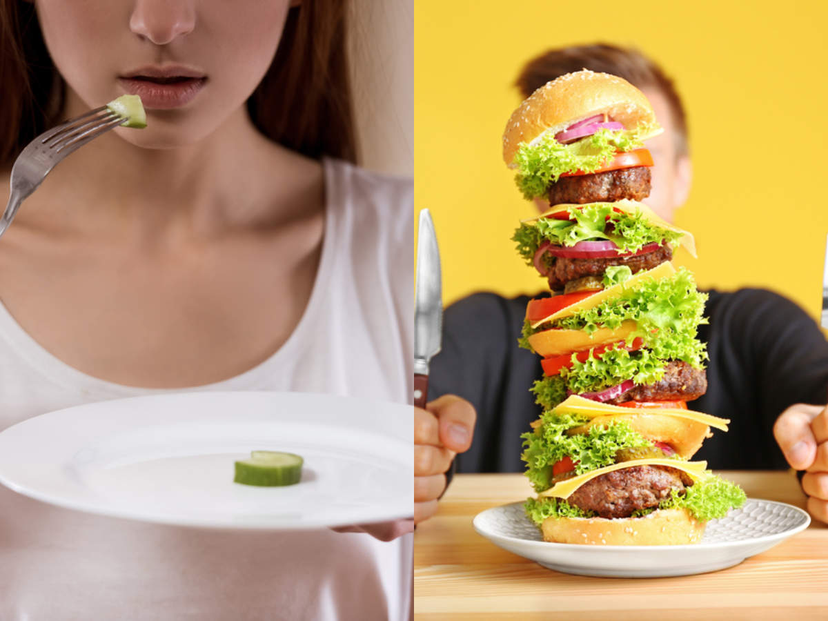 3 psychological reasons that are making you overeat or eat too less! -  Times of India