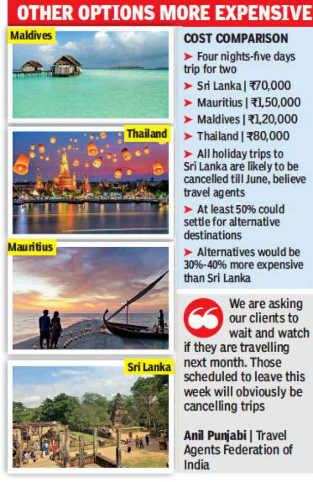 Kolkata Tourists Shun Lanka For Bali Maldives Kolkata