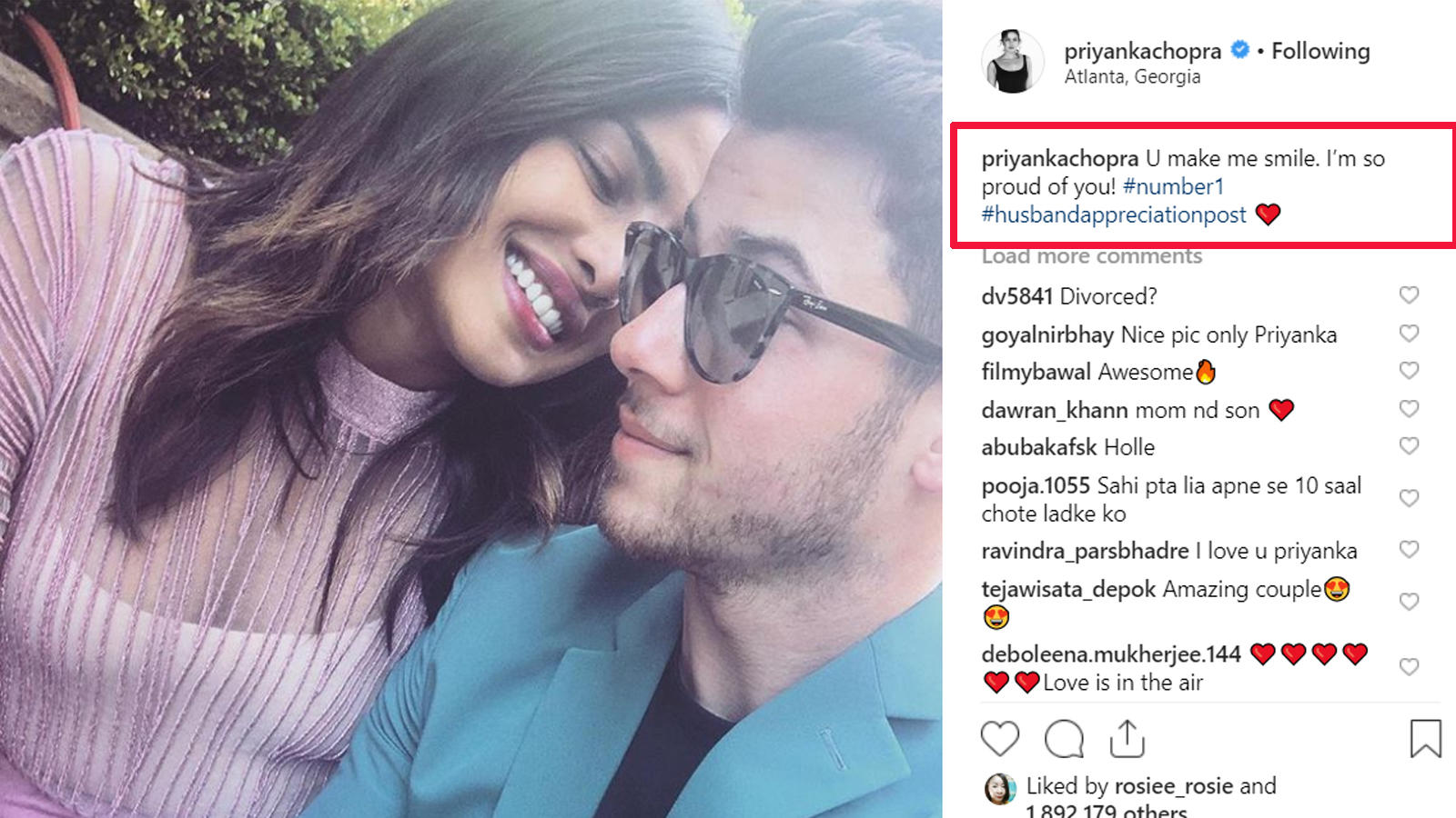 Priyanka Chopra's 'appreciation post' for Nick Jonas is sure to win your  heart