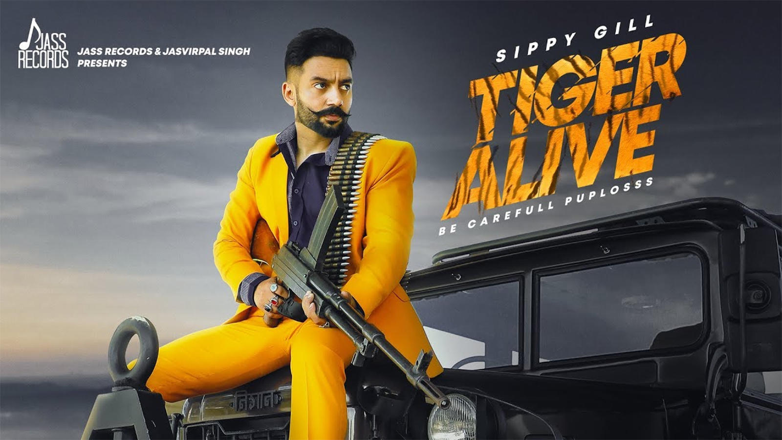 Latest Punjabi Song 'Tiger Alive' Sung By Sippy Gill