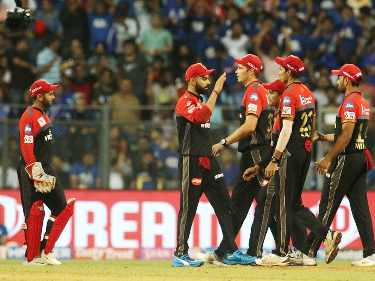 Rcb Vs Kxip Highlights Ipl 2019 Royal Challengers Bangalore Beat Kings Xi Punjab By 17 Runs Cricket News Times Of India