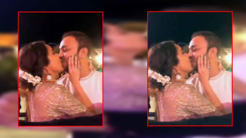 Ankita Lonkhande publicly kisses rumoured boyfriend Vikas Jain, video goes  viral