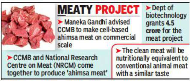 Relish this! Shortly, 'ahimsa meat' will be on your plate