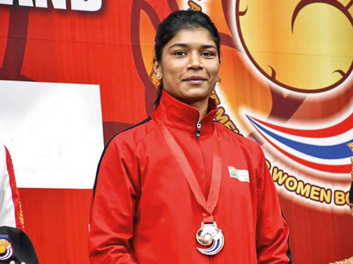Nikhat Zareen: Telangana's Nikhat Zareen packs a punch; wins ...