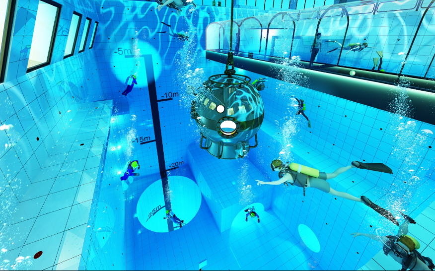 World's deepest swimming pool to open soon in Poland