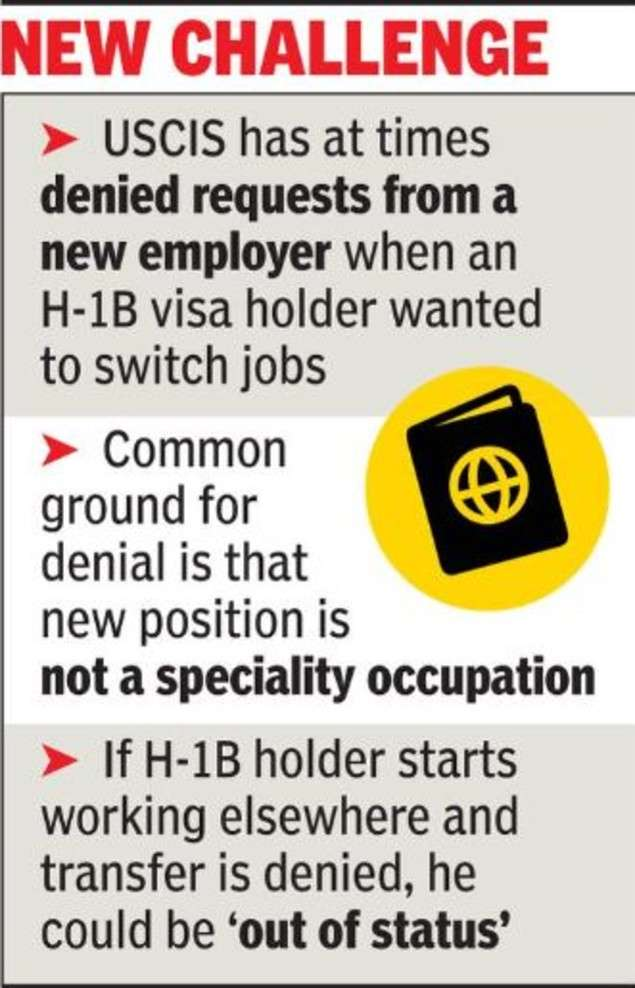 H1B Visa: Job-hopping in US gets tougher for H-1B holders | World