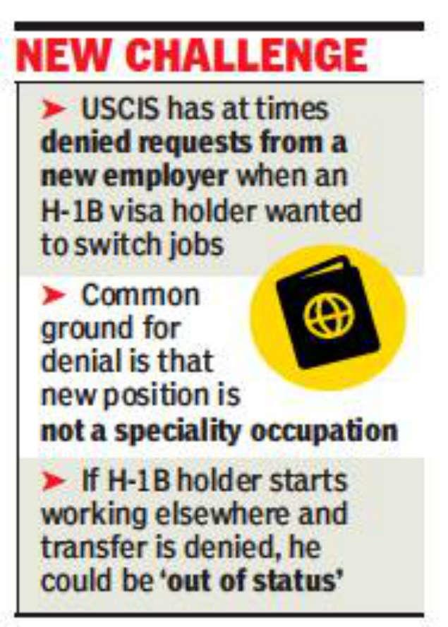 Job hopping gets tougher for H-1B holders | Mumbai News