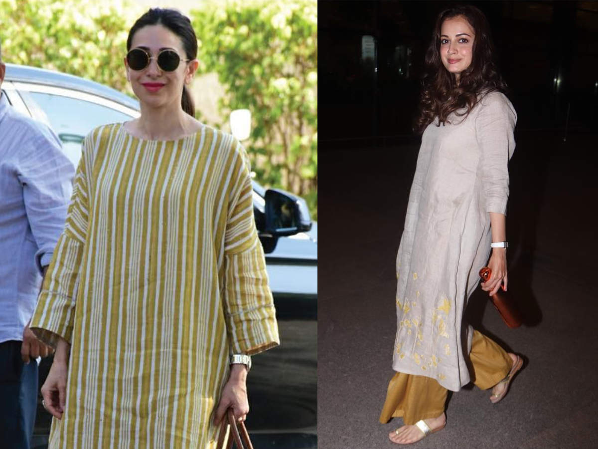 fd53a8cf2f From Karisma Kapoor to Tara Sutaria: 5 Indian ensembles to wear in summers  like Bollywood divas - Times of India