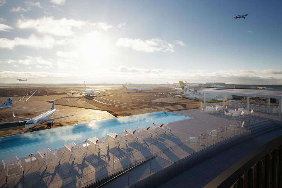 TWA Hotel at JFK Airport set to launch the most incredible infinity pool
