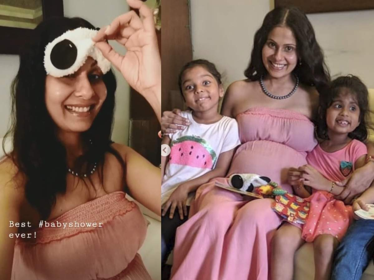 Mom To Be Chhavi Mittal S 6 Year Old Daughter Plans A Special Baby Shower For Her And It S The Cutest Ever Times Of India