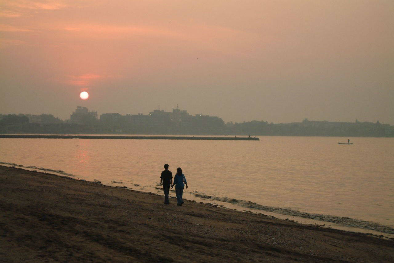 Dadar beach is once again clean and visitable