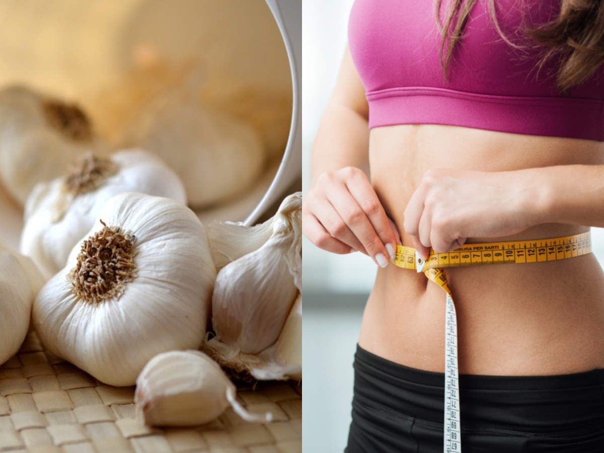 how to use garlic (lahsun) for weight loss - times of india