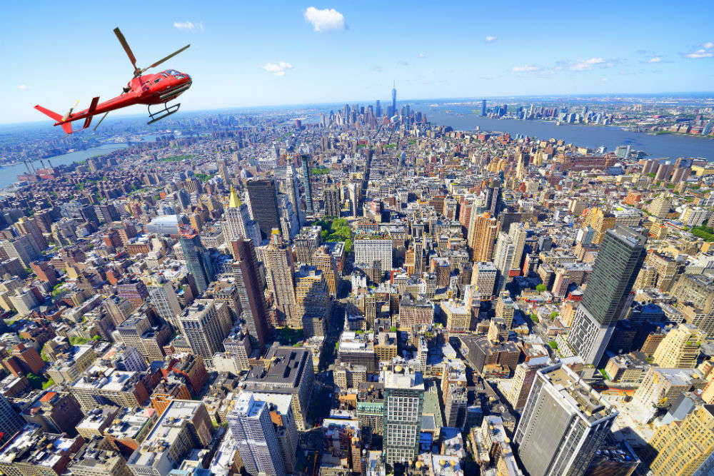 Reach any NYC Airport in just 5 minutes with the new helicopter service