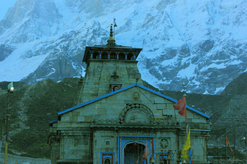 Fresh spell of snowfall in Kedarnath