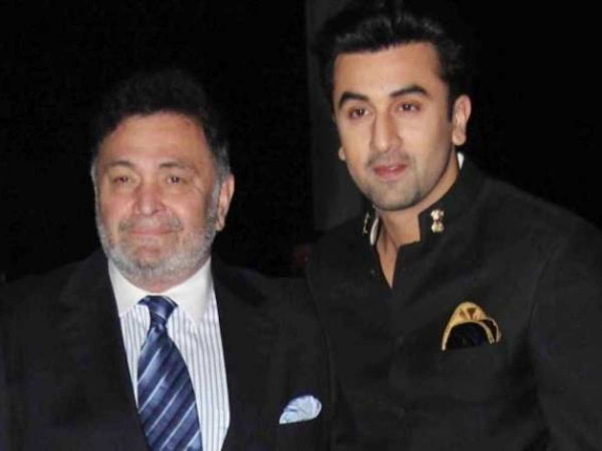 Ranbir Kapoor says his father Rishi Kapoor will return to Mumbai in a month  or two | Hindi Movie News - Times of India