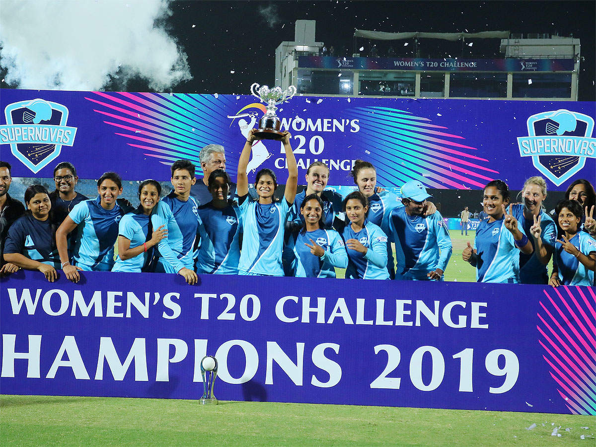Women's T20 Challenge: Supernovas crowned champions | Cricket News - Times  of India