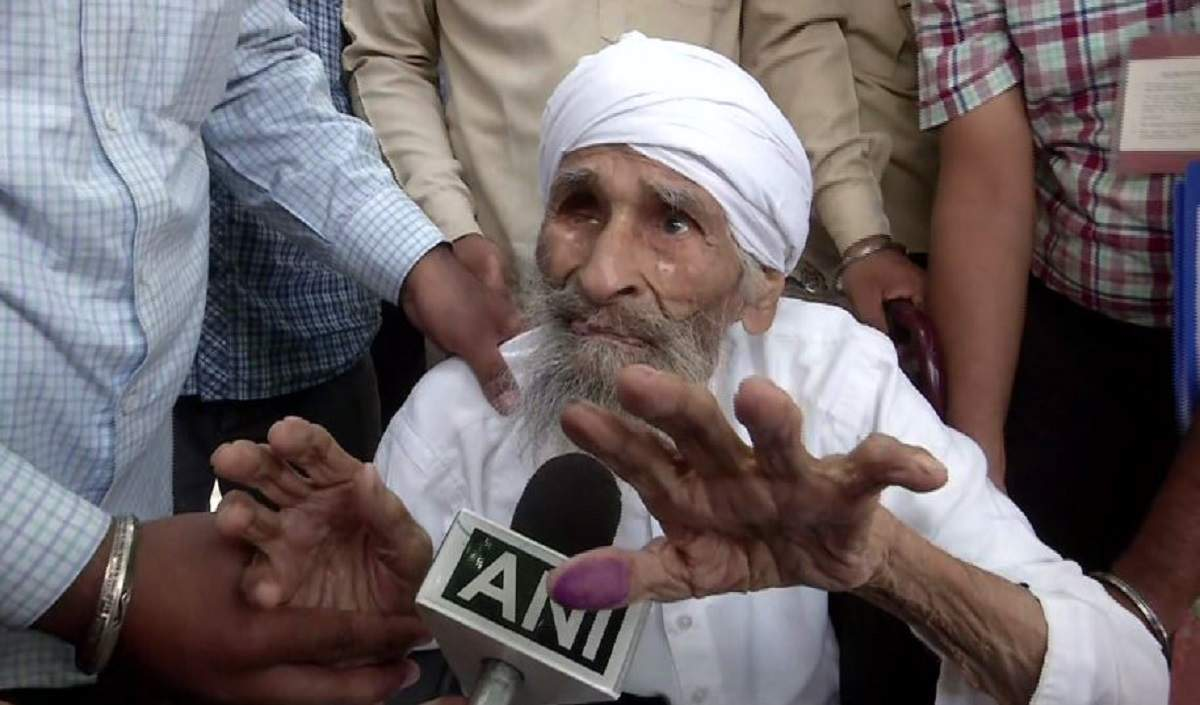 Image result for bachan singh 11 year old voter