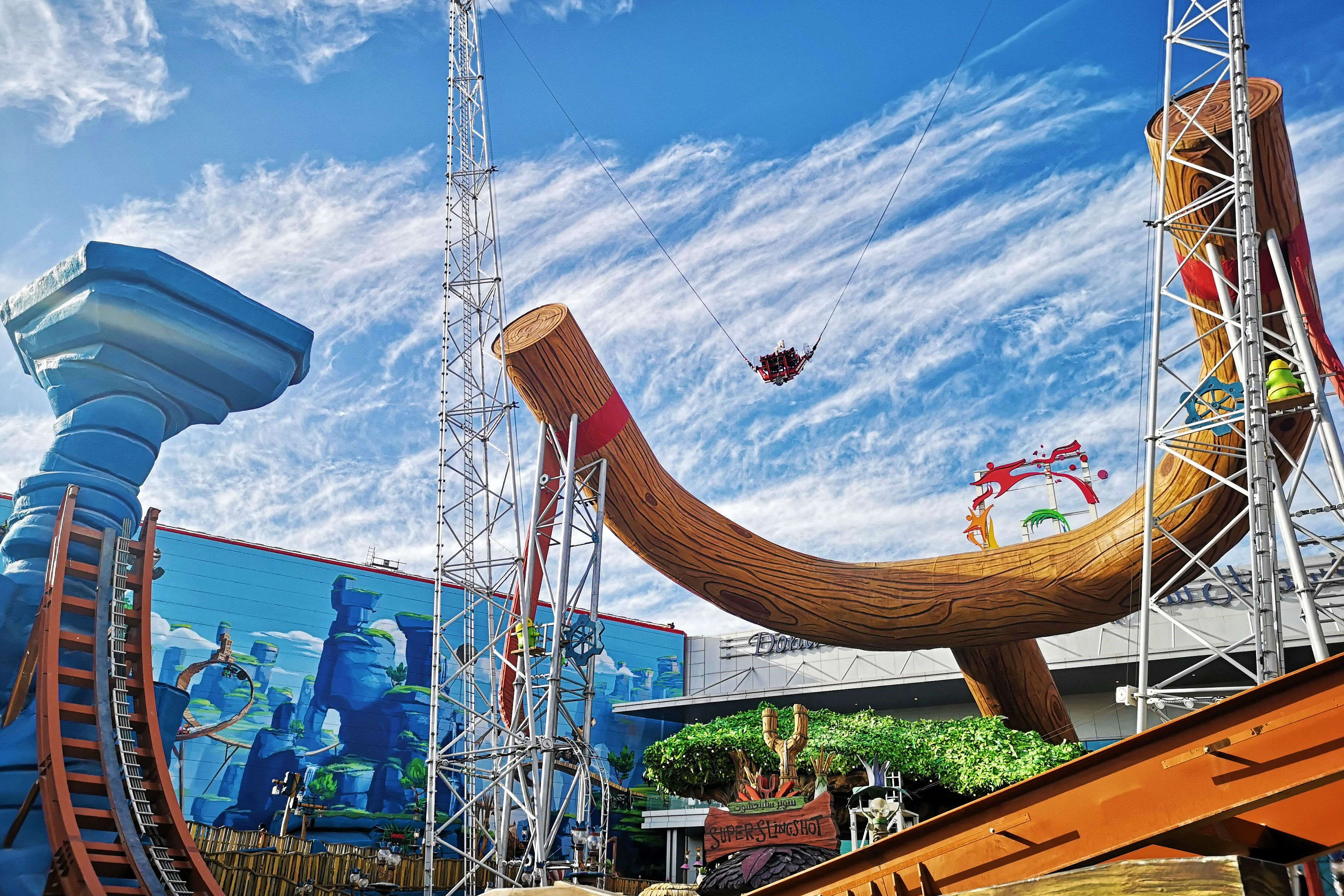 The exclusive Angry Birds World park in Doha has a lot to offer