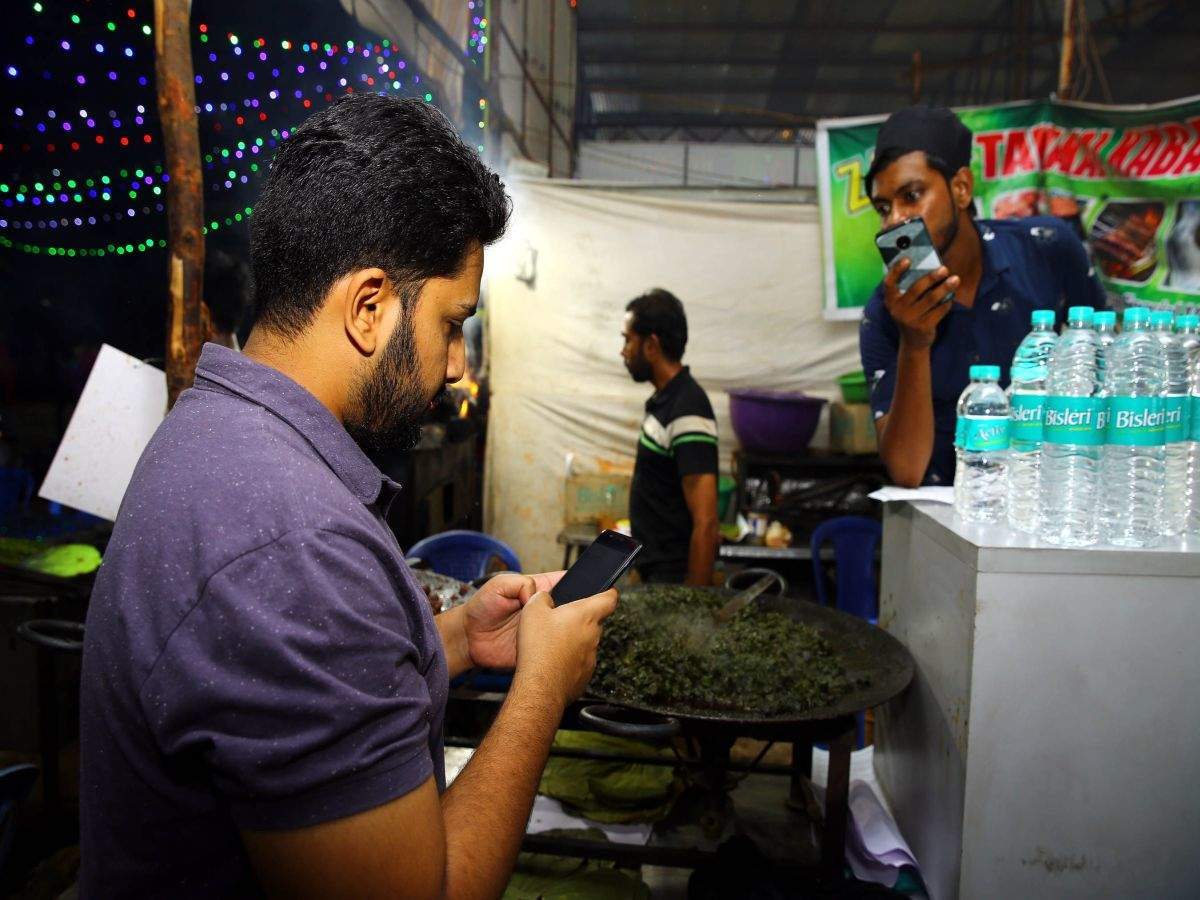 Iftar feast goes digital in bengaluru times of india