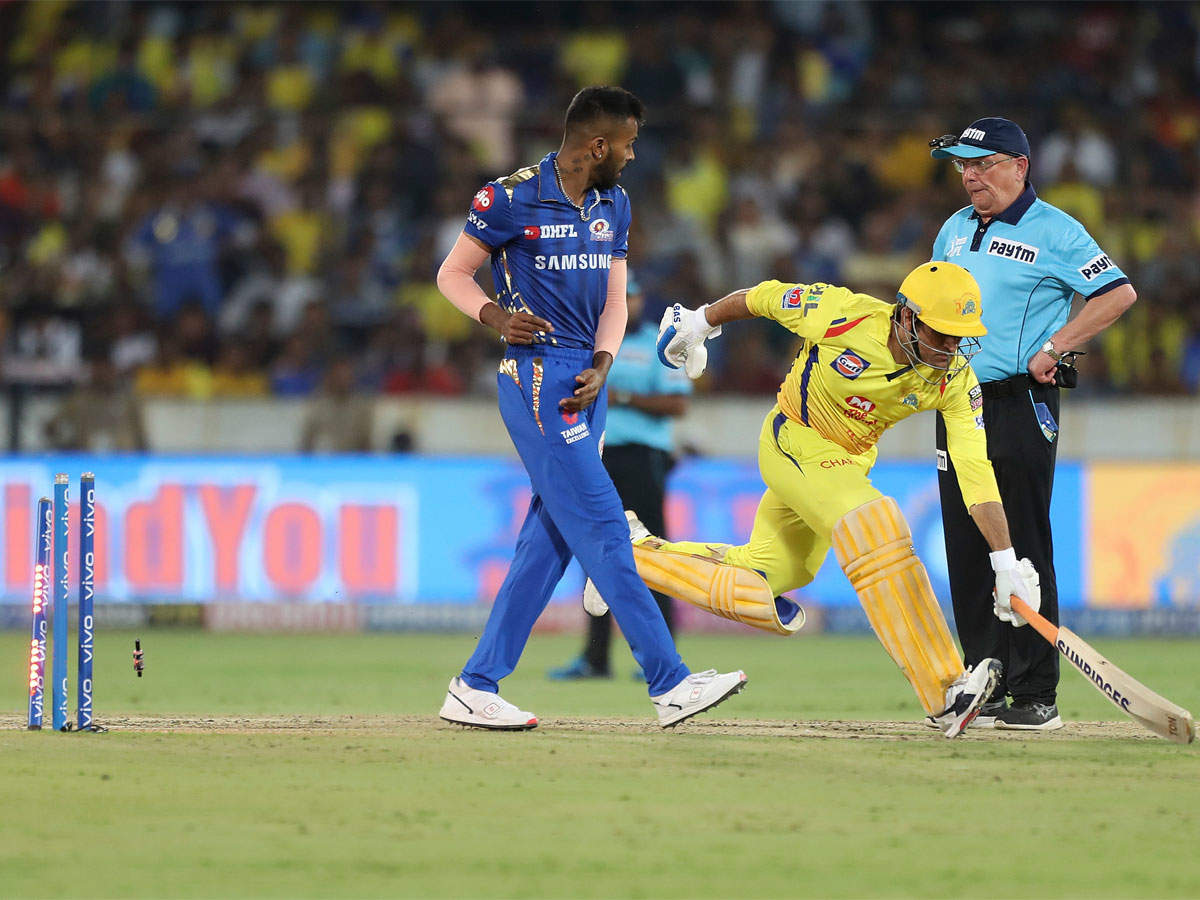 IPL Final 2019: We were passing trophy to each other, says MS Dhoni