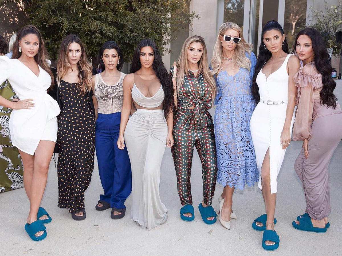 Kim Kardashian S Grand Baby Shower Before Welcoming Her Son See