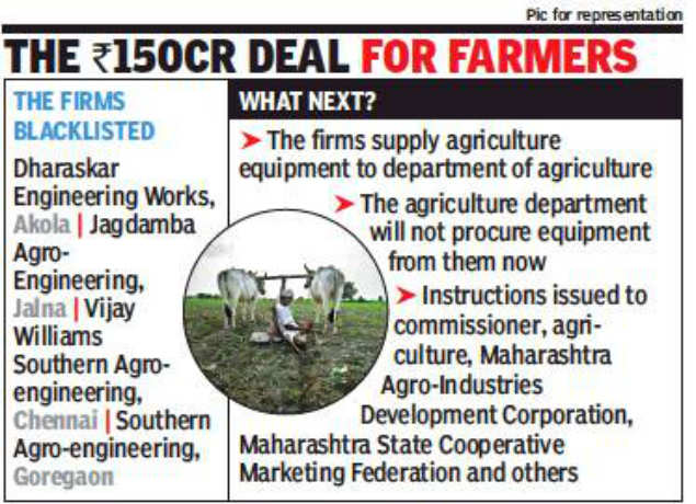 Maharashtra: 4 firms blacklisted for poor quality equipment