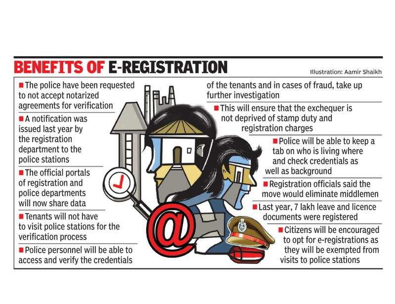 Online police verification of tenants to be a reality soon