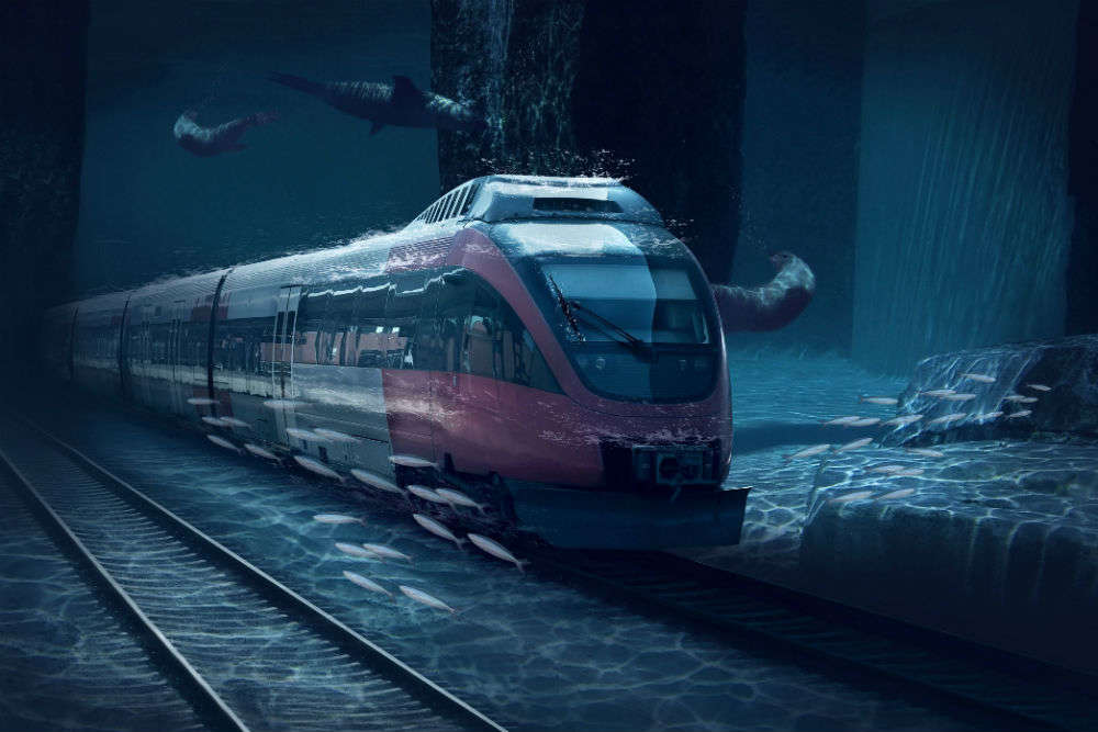 India to have underwater bullet trains by 2022