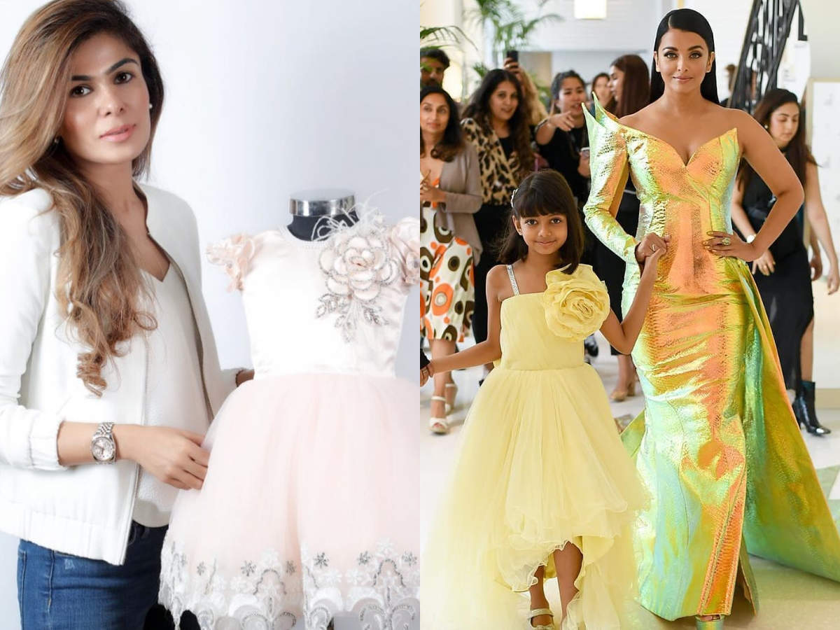 f93364fdd2 This Greater Kailash based designer created Aaradhya Bachchan's Cannes 2019  outfit - Times of India