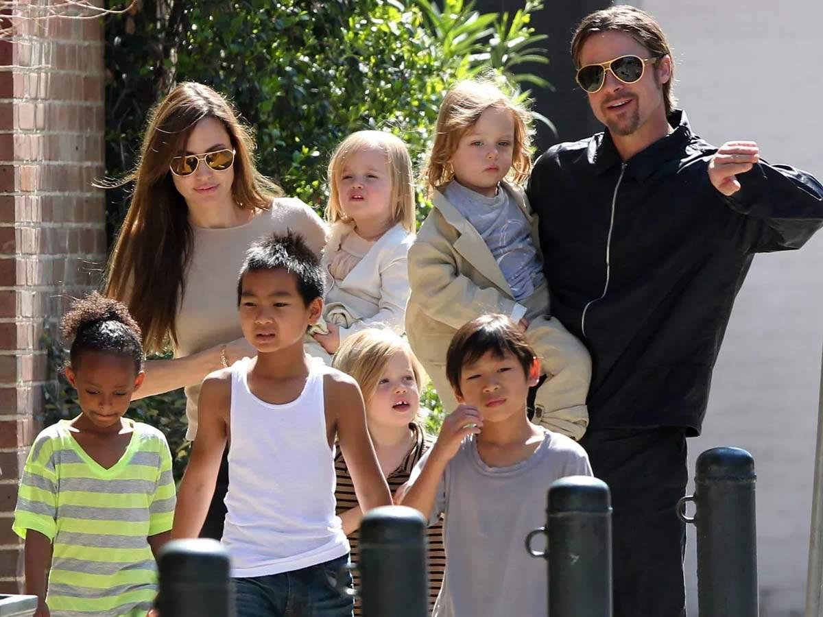 Angelina Jolie Shifting to London, Taking Kids Along?