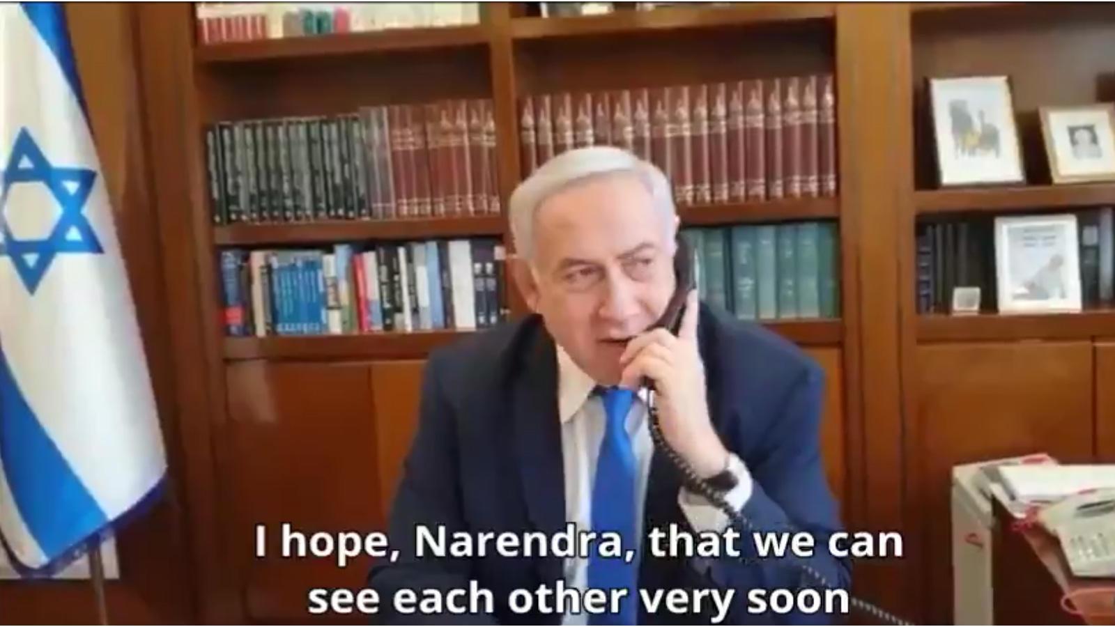 israel-pm-benjamin-netanyahu-congratulates-narendra-modi-over-telephonic-conversation