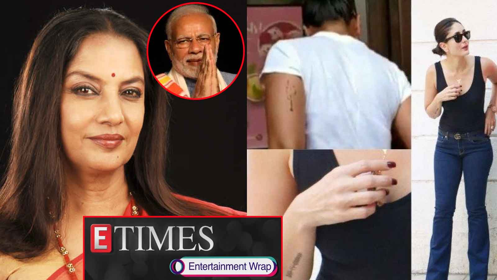 shabana-azmi-gets-trolled-after-congratulating-pm-narendra-modi-kareena-kapoor-khan-spotted-with-two-tattoos-and-more