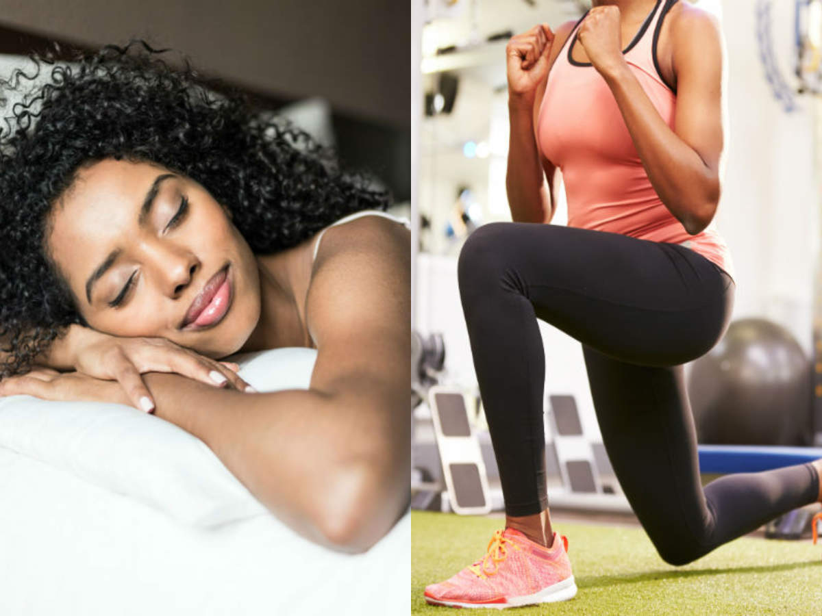 Good sleep versus good workout: What is more important?