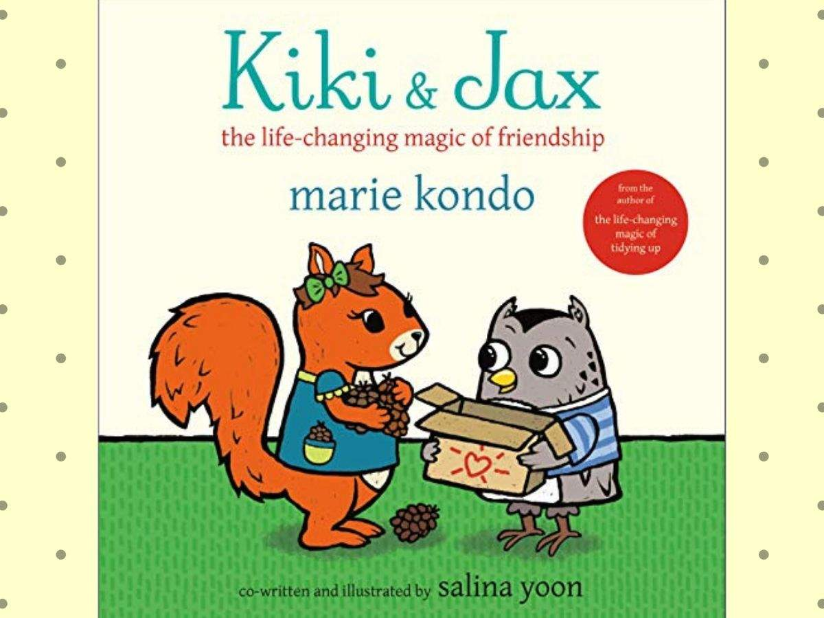 Marie Kondo's new book is for children