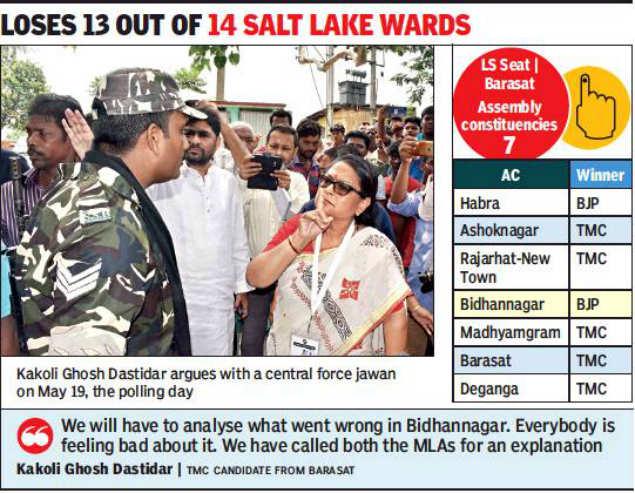 TMC setback in Salt Lake, urban belts of New Town   Kolkata