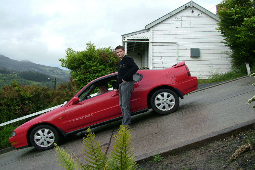 Life at Baldwin Street, the steepest street in the world!