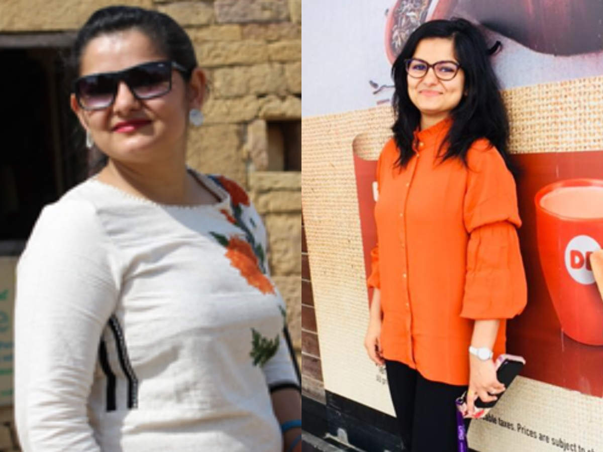 Weight Loss This Girl Lost 11 Kilos In Just 5 Months Times Of India