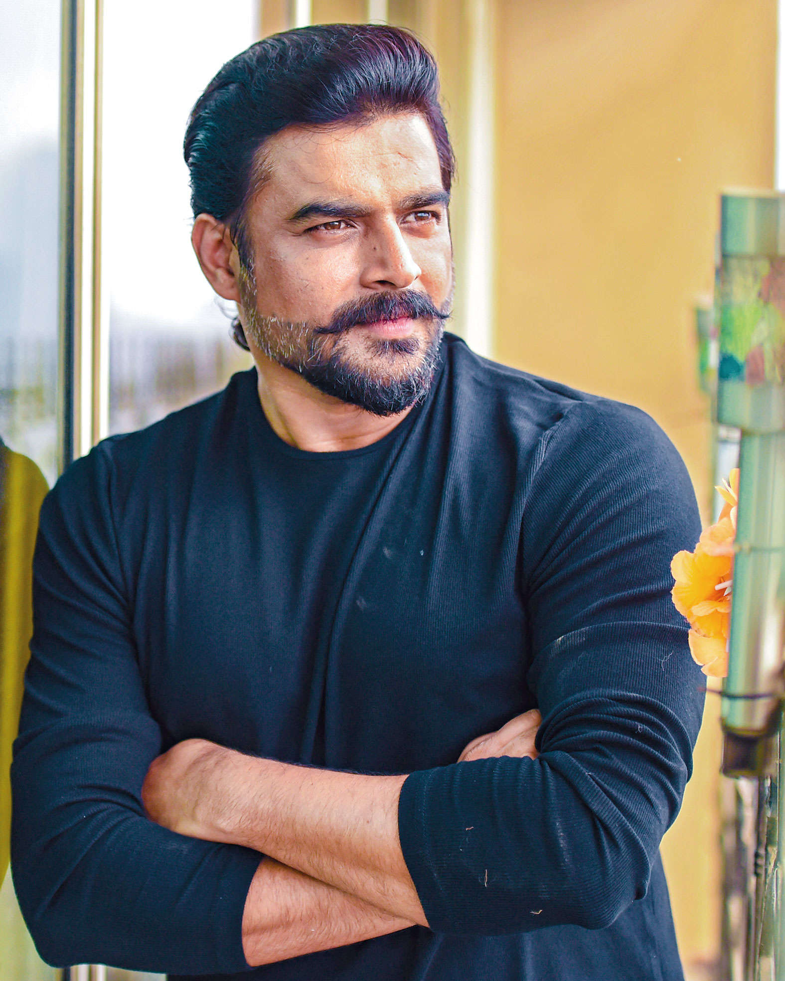 Madhavan plays a cello player, but won't serenade Anushka in Silence... |  Events Movie News - Times of India