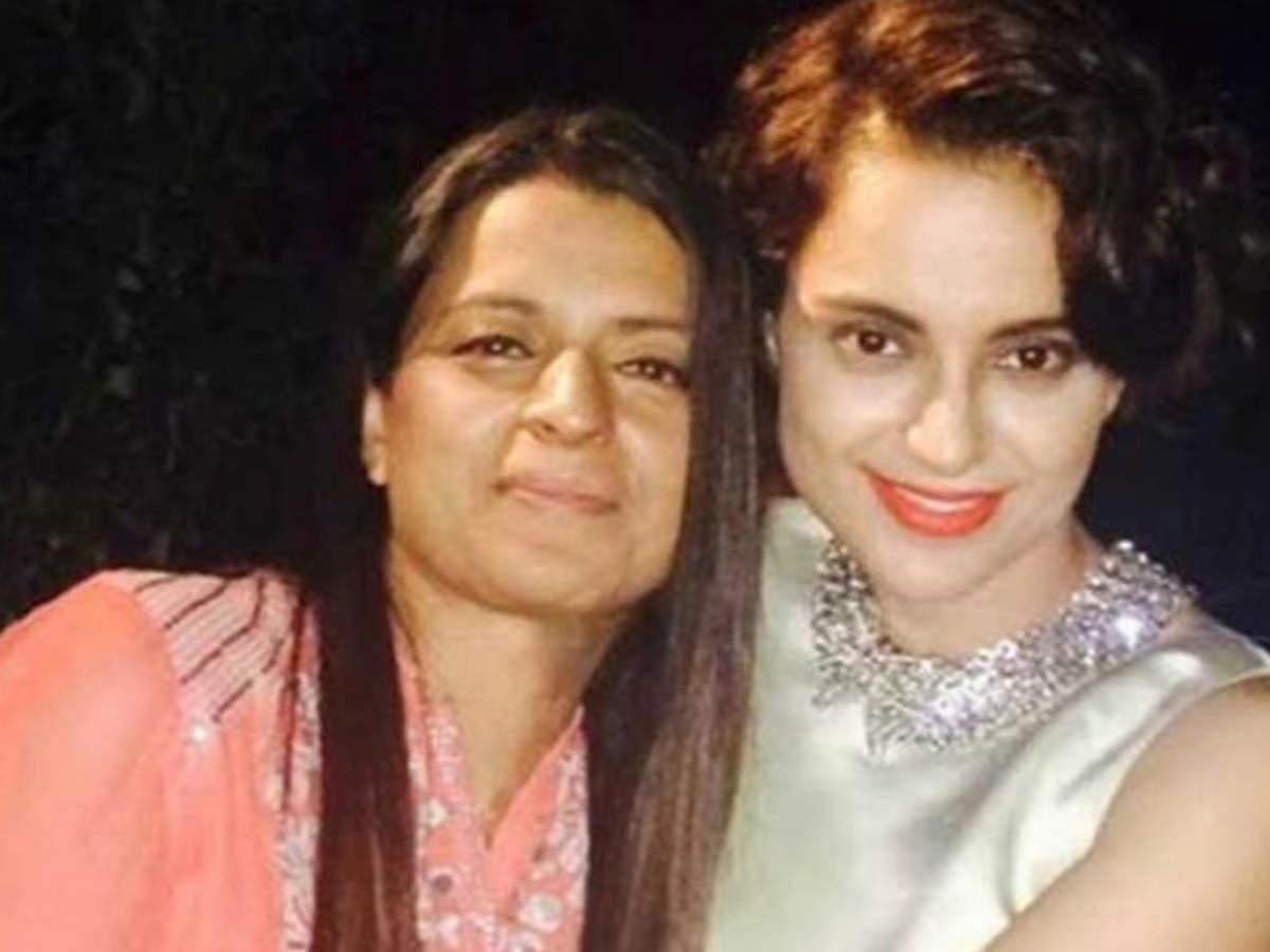 Kangana Ranaut's sister Rangoli Chandel once again gets into