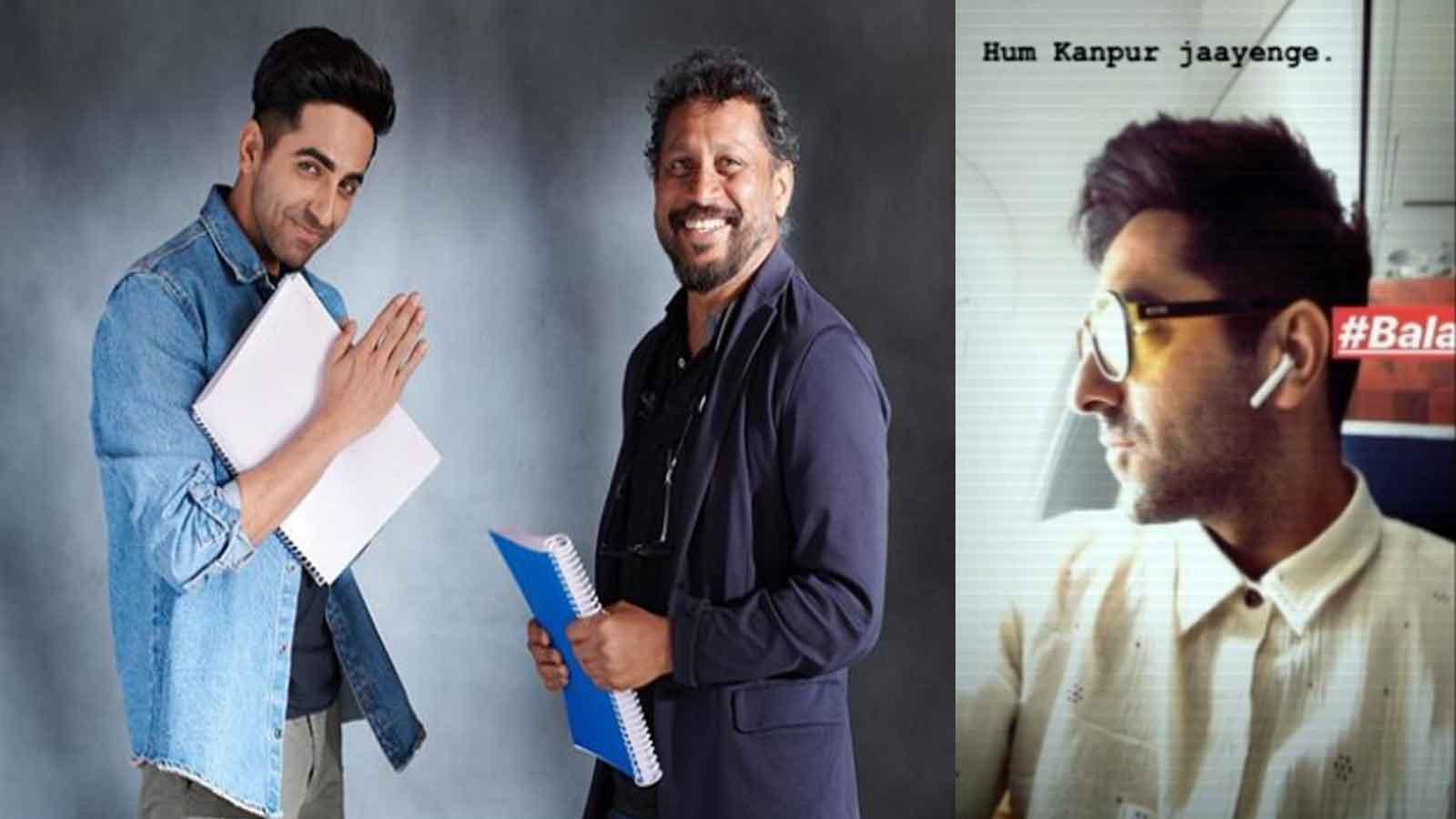 Ayushmann Khurrana starts shooting for 'Bala' in Kanpur