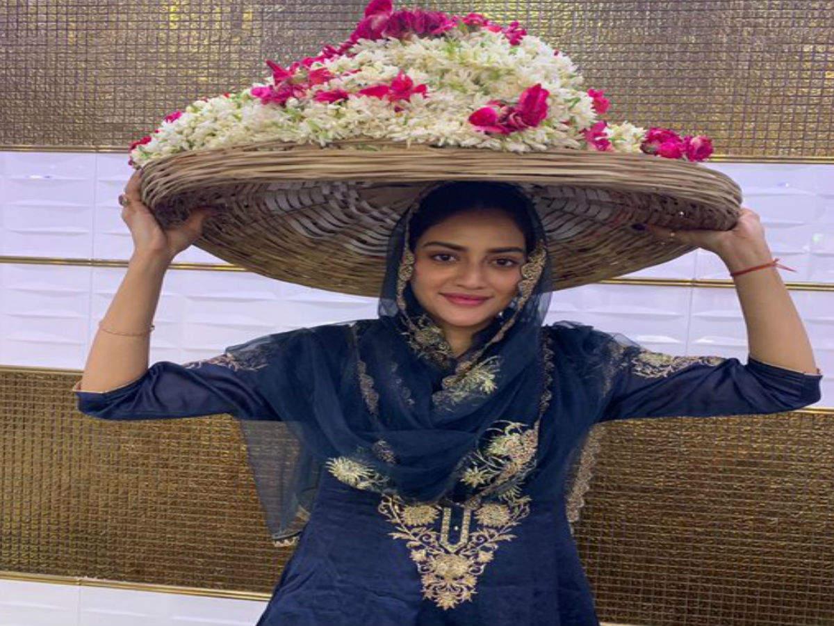 Amid wedding rumours Nusrat visits Ajmer Sharif to seek blessings
